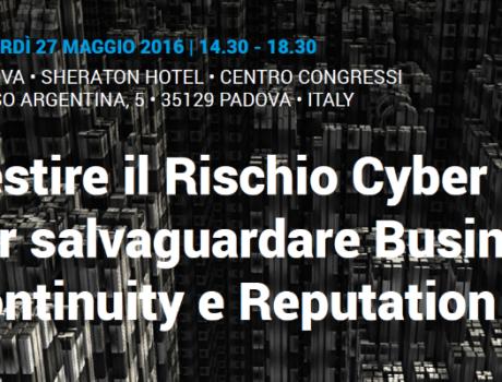 Cyber Risk Management: Analisi, mitigazione, trasferimento assicurativo del rischio